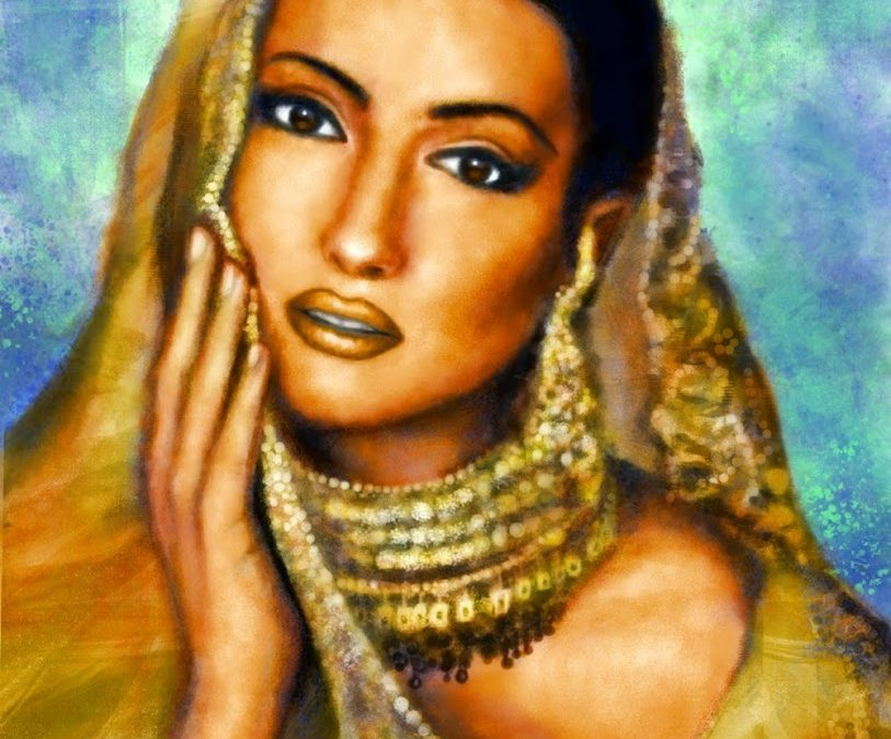 Indian bride – with steps
